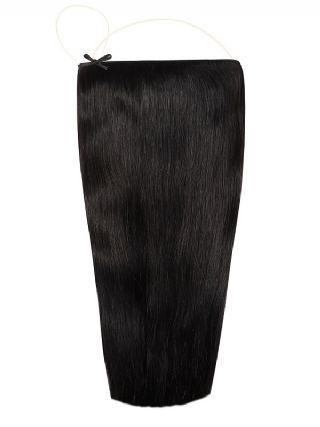 VIP Halo Natural Black #1B Hair Extensions