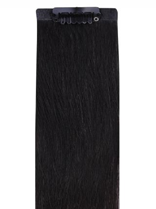 VIP Seamless Clips Natural Black #1B Hair Extensions