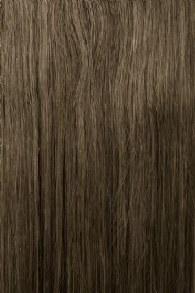 Nail Tip (U-Tip) Dark Ash Brown #7 Hair Extensions