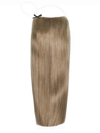 Premium Halo Ash Brown #11 Hair Extensions