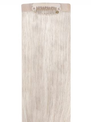 VIP Seamless Clips Ash Blonde Hair Extensions