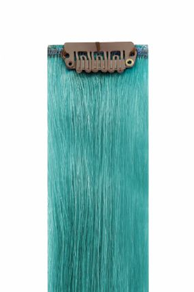The Flash Baby Blue Hair Extensions