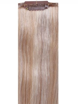 Deluxe Head Clip-In Mixed #17/Ash Blonde Hair Extensions