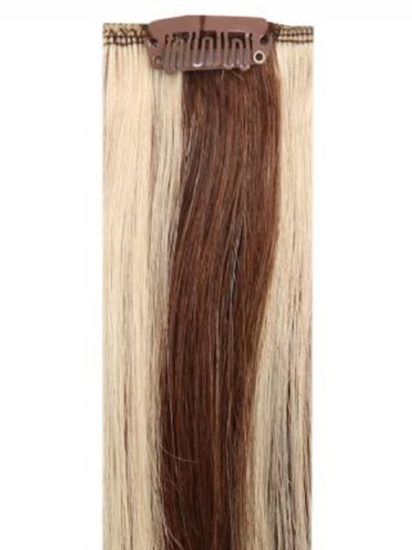 Deluxe Head Clip-In Mixed #4/613 Hair Extensions