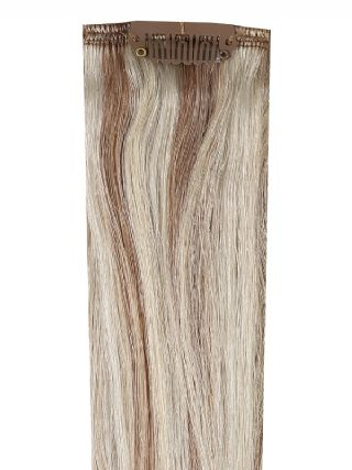 Deluxe Head Clip-In Champagne Royale #11/60/Ash Hair Extensions