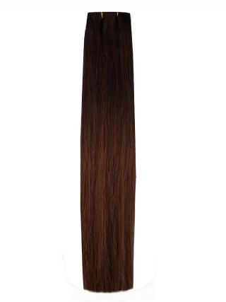 Dark Brown Chocolate Brown Ombre #OM42