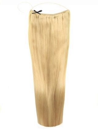 Deluxe Halo Golden Blonde #24 Hair Extensions