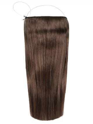 Deluxe Halo Iced  Mocha #5A Hair Extensions