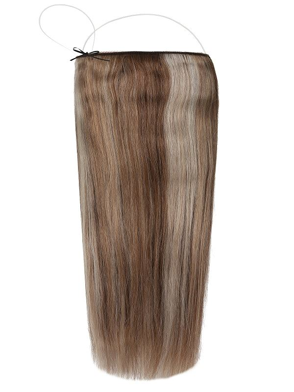Deluxe Halo Brondi Beach #7/11/Ash Hair Extensions