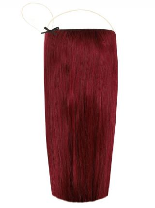 The Halo Cherry Crush Hair Extensions