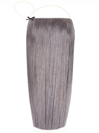 Deluxe Halo Grey Hair Extensions
