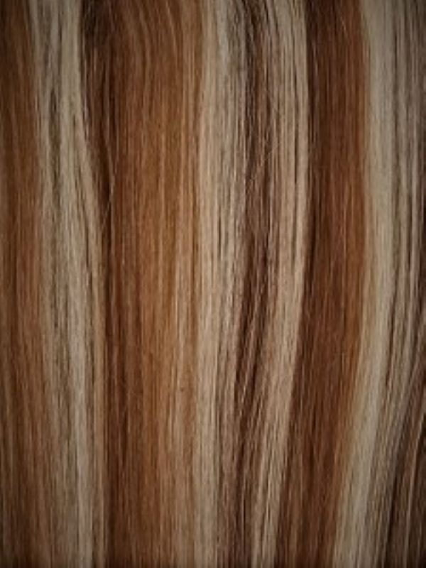 Luxe Weft Mixed #4/613 Hair Extensions