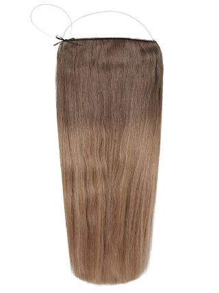 The Halo Iced Mocha Latte Ombre #OM5A/17 Hair Extensions