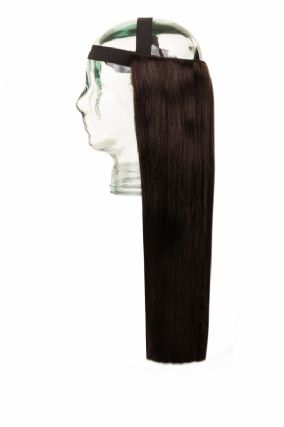 Halo HeadBand Dark Brown #2 Hair Extensions