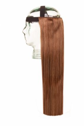 Halo HeadBand Light Brown #6 Hair Extensions