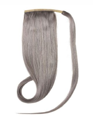 Ponytail Grey Hair Extensions