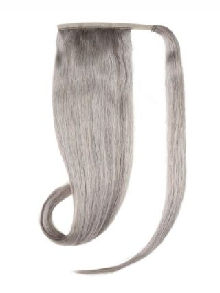 Ponytail Silver Hair Extensions
