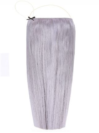 Deluxe Halo Silver Hair Extensions