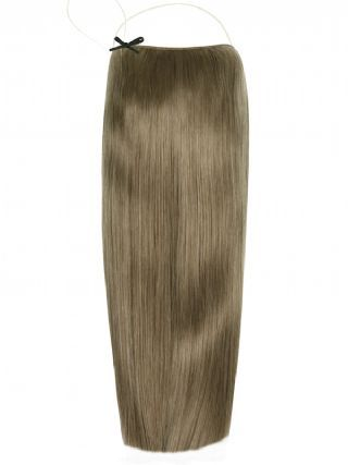 Deluxe Halo Ash Brown #11 Hair Extensions