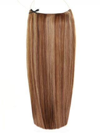 Deluxe Halo Mixed #4/8 Hair Extensions
