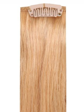 Deluxe Head Clip-In Dark Blonde #18 Hair Extensions
