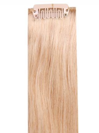 Deluxe Head Clip-In Honey Blonde #22 Hair Extensions