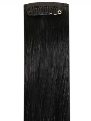 Deluxe Head Clip-In Jet Black #1 Hair Extensions