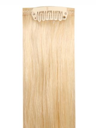 Deluxe Head Clip-In Light Blonde #613 Hair Extensions