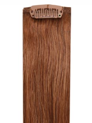 Deluxe Head Clip-In Light Brown #6 Hair Extensions