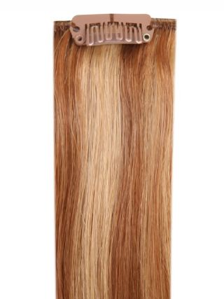 Deluxe Head Clip-In Mixed #10/16 Hair Extensions