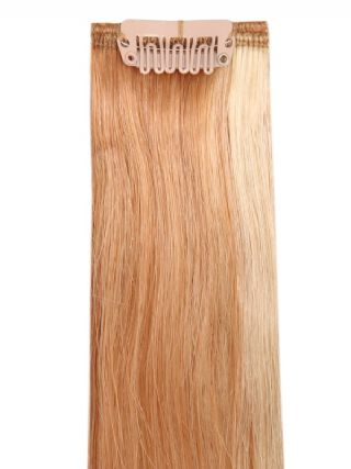 Deluxe Head Clip-In Mixed Blonde #18/613 Hair Extensions