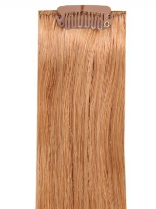 Deluxe Head Clip-In Mousy Brown #14 Hair Extensions