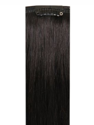 Deluxe Head Clip-In Natural Black #1B Hair Extensions