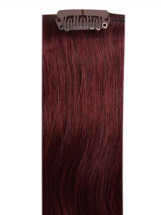 Deluxe Head Clip-In Plum #99J Hair Extensions