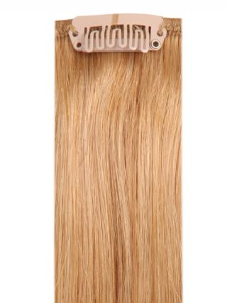 Deluxe Head Clip-In Strawberry Blonde #27 Hair Extensions