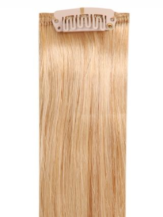Deluxe Head Clip-In Swedish Blonde #20 Hair Extensions
