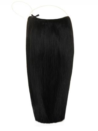 The Halo Jet Black #1 Hair Extensions