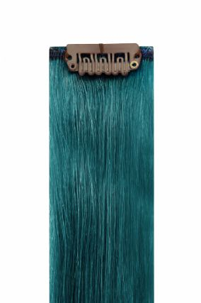 The Flash Teal Hair Extensions