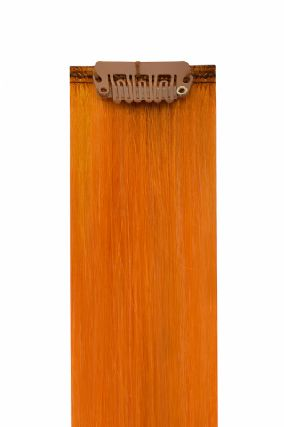 The Flash Orange Hair Extensions