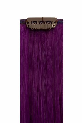 The Flash Purple Hair Extensions