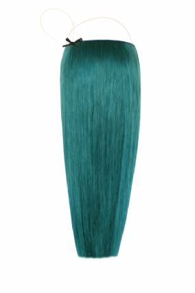 The Halo Teal Hair Extensions