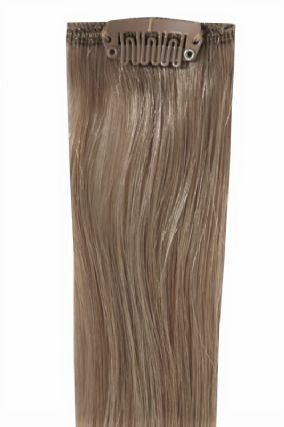 Deluxe Head Clip-In Ash Brown #11 Hair Extensions
