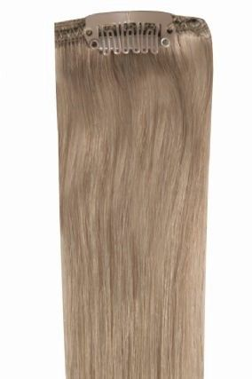 Deluxe Head Clip-In Dark Ash Blonde #17 Hair Extensions