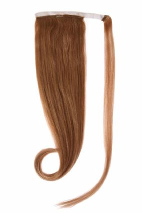Ponytail Golden Brown #12 Hair Extensions