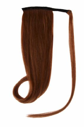 Ponytail Light Brown #6 Hair Extensions