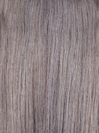 Luxe Weft Grey Hair Extensions