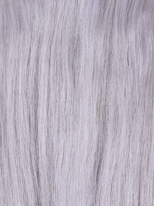 Stick Tip (I-Tip) Silver Hair Extensions
