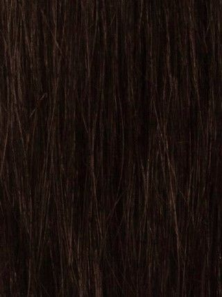 Luxe Weft Dark Brown #2 Hair Extensions