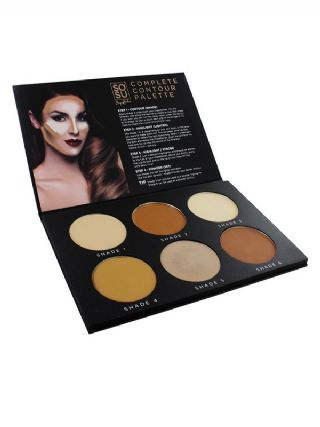 SOSU Contour Palette & 4 Detail Brush Collection