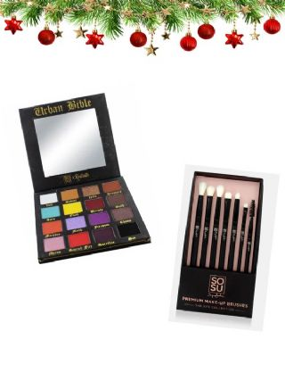 SOSU Keilidh Palette & 7 Eye Brush Collection